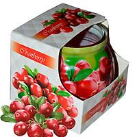 Ly nến thơm tinh dầu Admit Cranberry 85g QT01880 - nam việt quất
