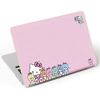 Miếng Dán Trang Trí Mặt Ngoài + Lót Tay Laptop Hoạt Hình LTHH - 650