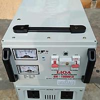 Ổn áp lioa 10kva model SH - 10000II đời mới nhất dây đồng 100%