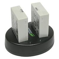 Bộ 2 Pin 1 Sạc Wasabi For Canon LP-E8 - Hàng chính hãng