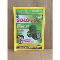SOLO TOP 50WP - Thuốc trừ bệnh thán thư - kháng nấm phấn trắng cho hoa Hồng - hoa kiểng và cây trồng