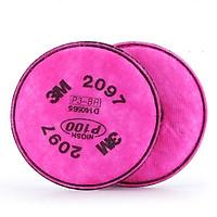 Cặp tấm lọc bụi dùng cho mặt nạ phòng độc 2097 P100 3M