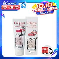 Sữa Rửa Mặt Bổ Sung Collagen Làm Trắng Holikey Collagen Fresh Cleansing Foam