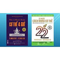 Combo 22 Ngày Cách Mạng Cơ Thể + Cơ thể 4 giờ – Bí quyết cân đối khỏe mạnh và đời sống tình dục thăng hoa (tặng kèm giấy nhớ PS)