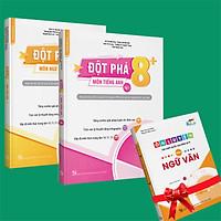 Sách - Combo Đột phá 8+(Phiên bản 2020) môn Tiếng anh tập 1 và Ngữ Văn (Tặng 1 cuốn Ôn luyện thi trắc nghiệm THPTQG môn Ngữ văn)