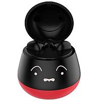 ZW-T7 Cute Pet TWS True Wireless BT Earphone Stereo Half In-ear Girls Headphone for IOS/Android Purple