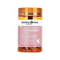 Thực phẩm chức năng hỗ trợ sức khỏe Australia Healthy Care High Strength Cranberry 25000 90 capsules