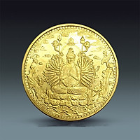 [Xu Thật] Xu Phật Giáo Quán Thế Âm Bồ Tát TMT COLLECTION Mạ Vàng XQAMV150