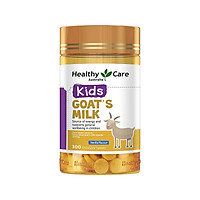 Healthy Care Low Fat Goat Milk Chewable Tablets Vanilla Flavor 300 Tablets