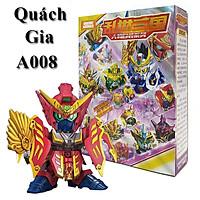 Đồ Chơi Lắp Ráp Gundam A008 Quách Gia Lắp Ghép, Xếp Hình - Gundam Tam Quốc Chí
