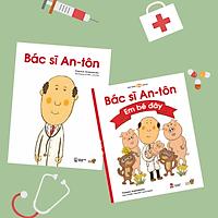 """Series 2 cuốn """" Bác Sĩ An-tôn"""" -Tranh truyện Ehon Nhật Bản kích thích tư duy cho trẻ từ 3-6 tuổi. Bao gồm: Bác sĩ An-tôn và Bác sĩ An-tôn: Em bé đây"""