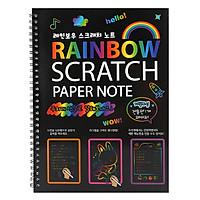 Sổ Cào Ma Thuật Rainbow - Màu Ngẫu Nhiên