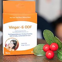 MIẾNG NGẬM  GIẢM ỐM NGHÉN VINGER - 6 ODF hết nghén ăn ngon, cho con đủ chất