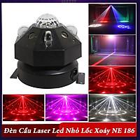 Đèn Cầu Laser Led Nhỏ Lốc Xoáy NE 186
