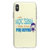 Ốp Lưng Điện Thoại Internet Fun Cho iPhone X I-001-014-C-IPX