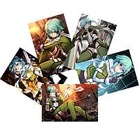 Tranh Poster SET 3 tấm Sword Art Online ANIME MANGA A4 tấm khác nhau
