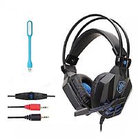 Tai nghe Gaming chụp tai (Headphone chơi game) SY850MV + Tặng Led USB (Giao màu ngẫu nhiên)