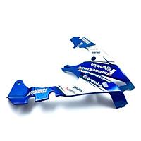 Mỏ cày (ốp lườn) dành cho Exciter 150 nhựa đúc khuôn (xanh dương)