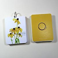 Giấy vẽ màu nước Postcard 40 tờ  khổ (9 x 12) cm - Màu vàng