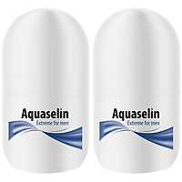 Combo Lăn Nách Dành Cho Nam Aquaselin Extreme For Men Antiperspirant For Excessive Perspiration 20ml