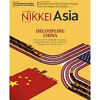 Nikkei Asian Review: Nikkei Asia - DECOUPLING CHINA - 40.20, tạp chí kinh tế nước ngoài, nhập khẩu từ Singapore
