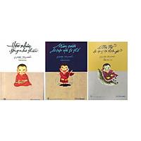 Combo sách mỉm cười dù cuộc đời là thế+ Chớ vội vã dù dòng đời xô ngã+ Hồn nhiên sống như thiền