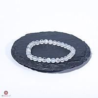 Vòng Tay Phong Thủy đá Mặt Trăng - Moonstones 100% tự nhiên đem lại may mắn, tài lộc, hợp mệnh Kim, Thủy, kích nhiều kích thước lựa chọn | VietGemstones