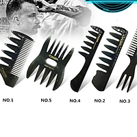 Bộ lược tạo kiểu tóc nam combo 5 lược