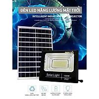 Đèn năng lượng mặt trời  Suntek 100W_200W - Chính hãng - hộp đèn nhôm đúc - thời gian sáng trên 12hr