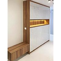 Tủ bếp gỗ trang trí nội thất cao cấp (mã TK032)