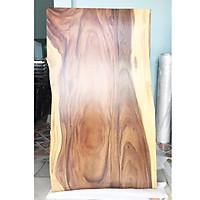 Mặt bàn gỗ me tây ghép tự nhiên rộng 84cm dài 1.5m