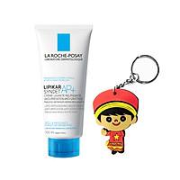 Sữa rửa mặt và tắm cấp ẩm giảm ngứa cho da nhạy cảm: La Roche Posay Lipikar Syndet AP+ 100mL (tặng móc khoá)