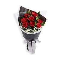 Bó hoa hồng Mật ngọt tình yêu- Hoa tươi- Quà tặng