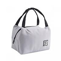 Túi đựng cơm, túi giữ nhiệt bản ngang Love Food có khoá kéo