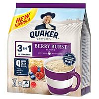 Thức Uống Yến Mạch Quaker 3in1 - Vị Berry Burst 450g