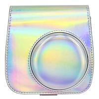 Bao Da Bảo Vệ Máy Chụp Ảnh Lấy Liền Instax Mini 9 / Mini 8 - Holo Silver