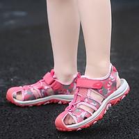 Sandal bít mũi cho bé gái 3 - 12 tuổi khỏe khoắn và năng động SG43