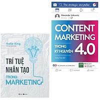 Combo Sách Marketing Cực Hay: Trí Tuệ Nhân Tạo Trong Marketing + Content Marketing Trong Kỷ Nguyên 4.0