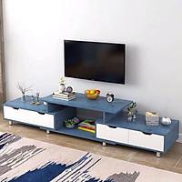 Kệ TV A1966 mầu vàng, gỗ công nghiệp MDF phủ melamin (120-190)*30*36cm