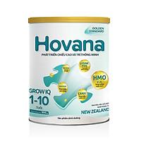 Sữa Bột Hovana Grow IQ 900gr Hỗ trợ tiêu hóa tốt, tăng miễn dịch, tăng cân tự nhiên cho bé 1 đến 10 tuổi