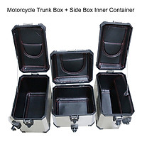 Motorcycle Trunk Box + Side Box Inner Container Trunk Side Saddlebag Top Cover Inner Bag Replacement for BMW R1200GS