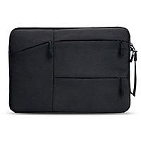 Chống Sốc Túi Đựng Laptop Cho Macbook M1 Chip Air Pro Retina 11 12 13 15 16 Inch Máy Tính Vải Túi bao Da Dành Cho Không Khí Pro 13.3