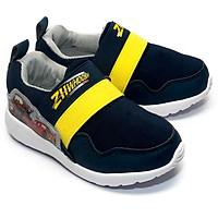 Giày Lười Bé Trai Disney Vương Quốc Xe Hơi CAR 093-NY Vàng Navy