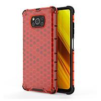 Ốp lưng cho Xiaomi Poco X3 NFC trong màu Tổ Ong chống sốc