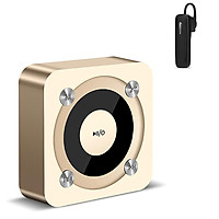 Loa Di Động Bluetooth Đèn Led Đổi Màu Niqin A9-1 + Tặng Tai Nghe Bluetooth Nhét Tai (Màu Ngẫu Nhiên)