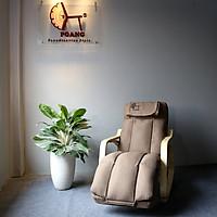 Poang massage Rocking Chair- Ghế bập bênh thư giãn đệm massage