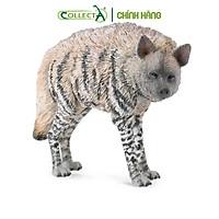 Mô hình thu nhỏ: Linh Cẩu - Striped Hyena, hiệu: CollectA, mã HS 9651110[88566] -  Chất liệu an toàn cho trẻ - Hàng chính hãng