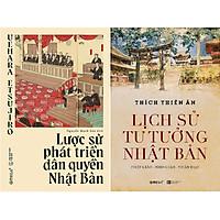 Combo 2 cuốn: Lược Sử Phát Triển Dân Quyền Nhật Bản + Lịch Sử Tư Tưởng Nhật Bản