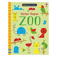 Usborne Sticker Shapes Zoo