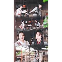 Poster 8 tấm A4 Hữu Phỉ ngôn tình cổ trang tranh treo album ảnh in hình đẹp (MẪU GIAO NGẪU NHIÊN)